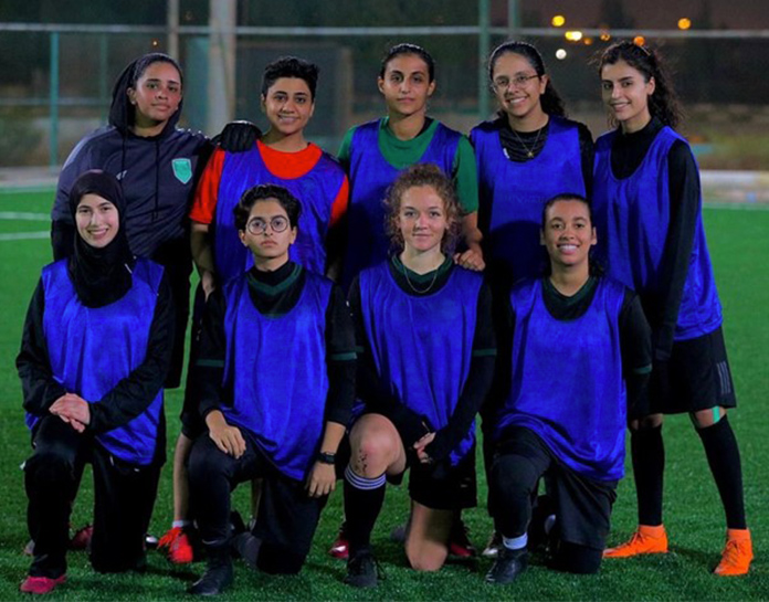 Congratulations to former player now in first-ever Saudi Arabia Women's Football League