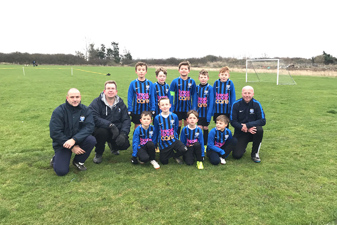 Tankerton U9's Support Breast Cancer