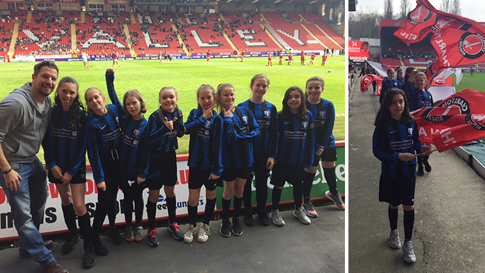 Charlton Trip for Tankerton Girls U11s