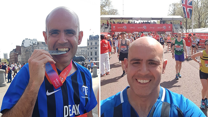 Huge congratulations to TFC coach, Dean Gonsalves for completing the London Marathon in that heat on Sunday